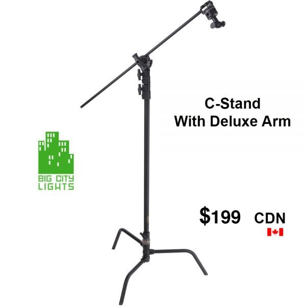 Heavy duty c-stand