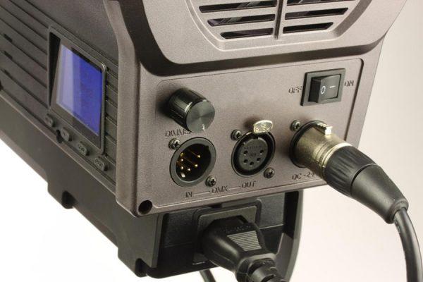 dmx 100W fresnel light film video toronto canada