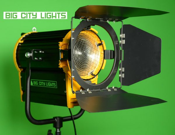CANADA, film, fresnel, LED, Big City, lighting, photo, powered, v-lock, video