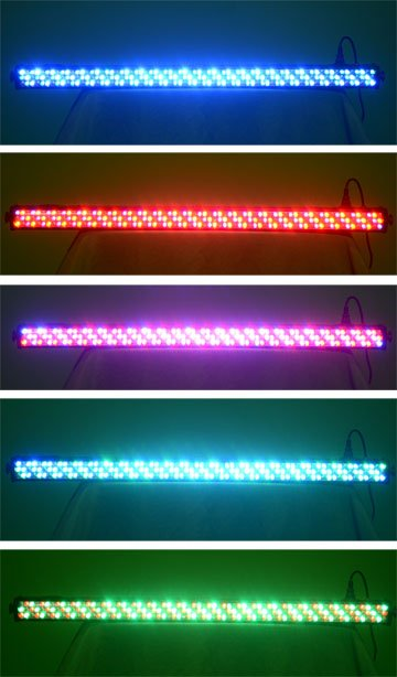 LED Wallwasher Party and event Canada Toronto Vanocuver Montreal Calgary Edmonton USA RGB 1 meter