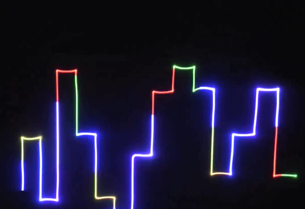 Laser light party and event animated laser Canada Toronto - rent or buy