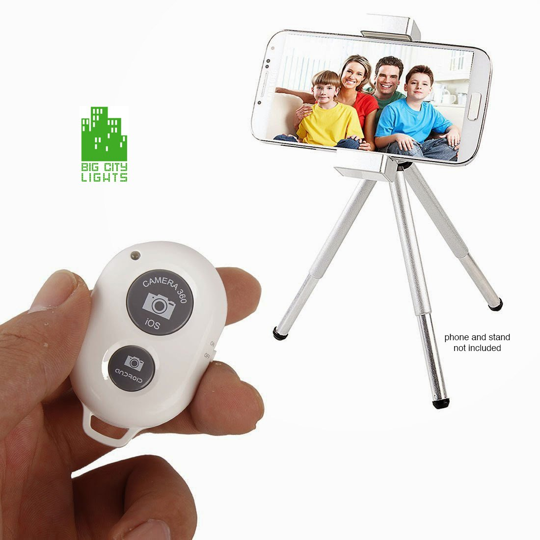 wireless bluetooth remote shutter smartphone tablet canada