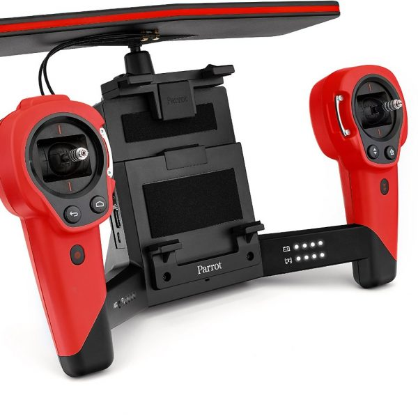 Red parrot drone controller