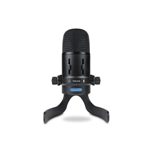 USB voice over microphone