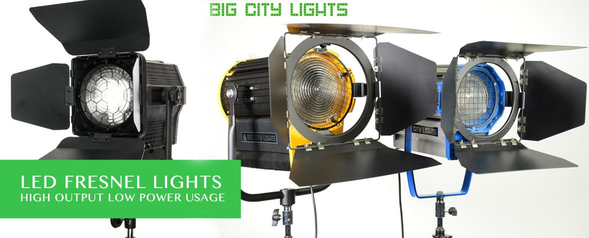 Toronto, LED, Fresnel, Canada, Rentals