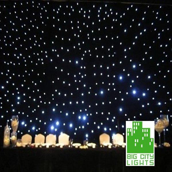 LED Star Curtain Big City Lights
