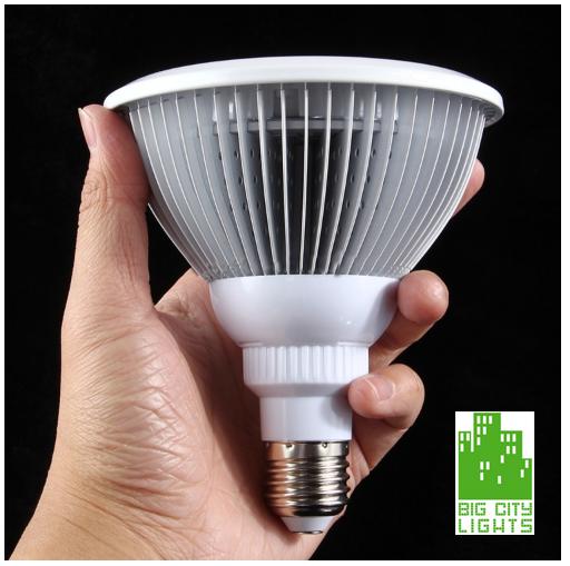 Led Light Fixtures Calgary: 24w LED Grow Light Bulb
